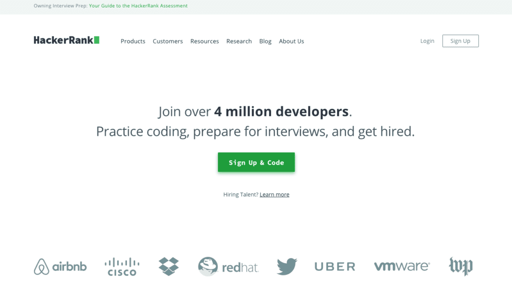 Top 31 Pre-employment assessment tools - HackerRank